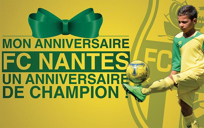 Carte Anniversaire Nantes.Mon Anniversaire Fc Nantes Urbansoccer