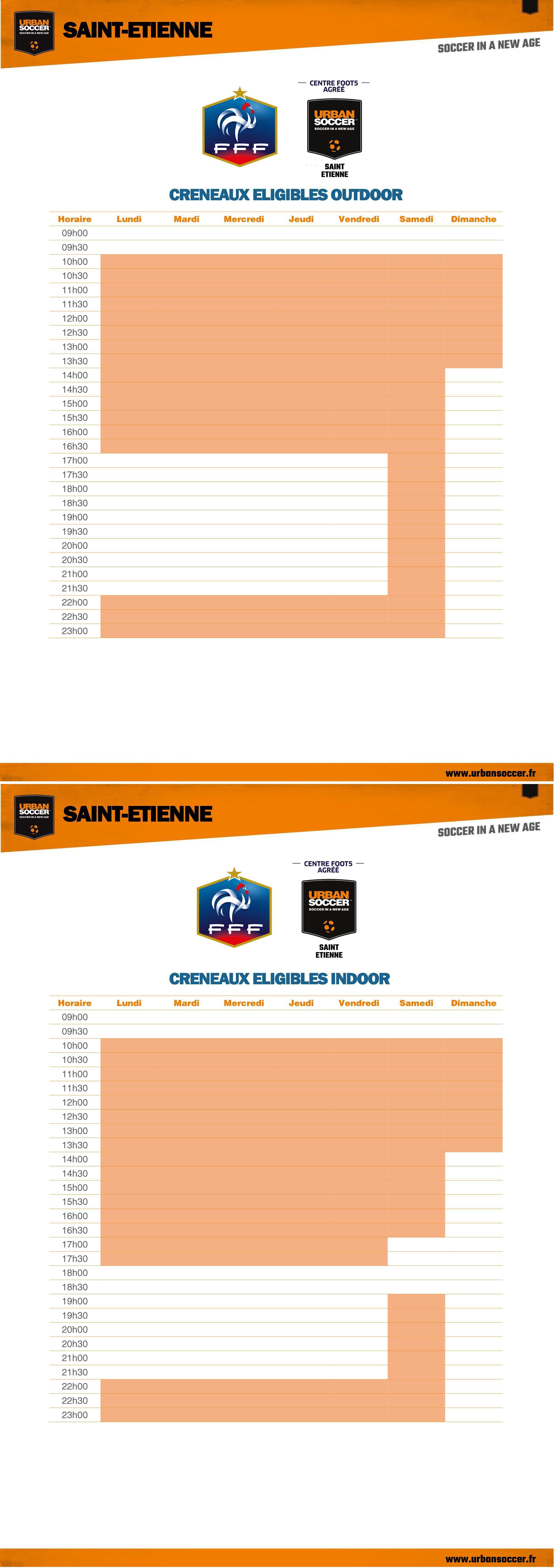 Heures FFF - Saint-Etienne